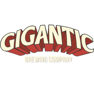Logo: Gigantic Brewing.